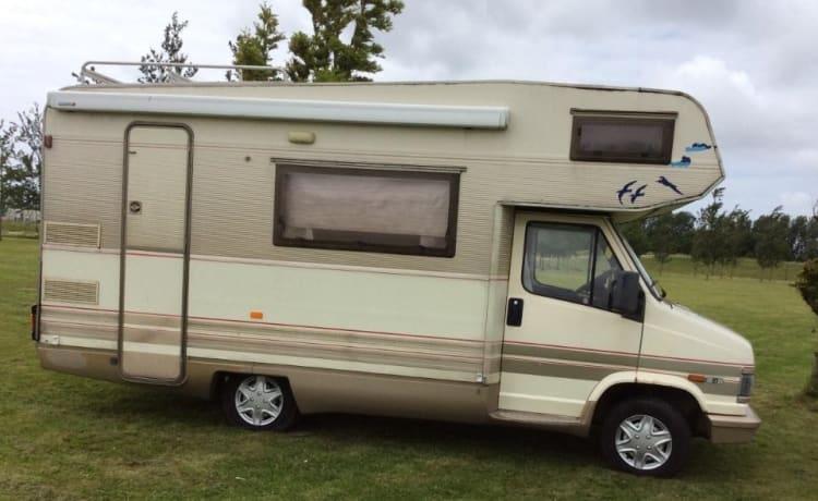 Spacious 5 per camper
