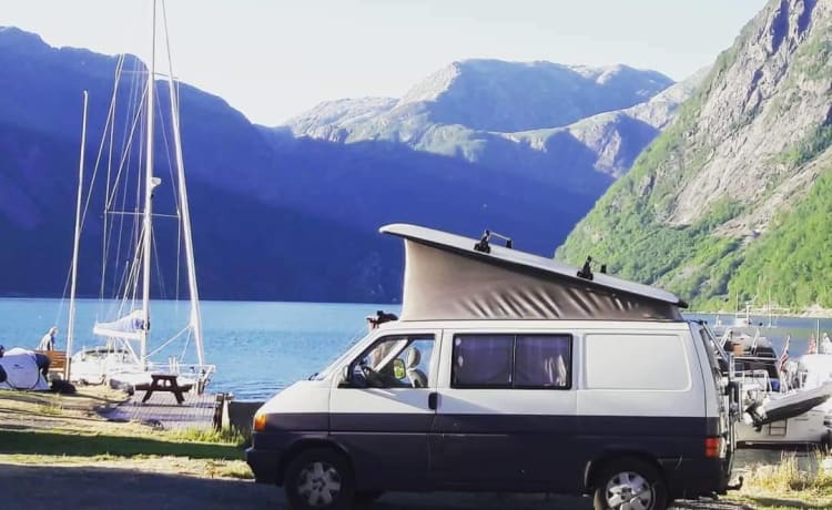 Billie – Billie de VW T4 camperbus