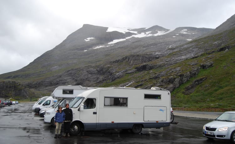 Freedom – Large camper, very suitable for free camping.