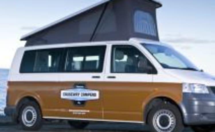 Lady Ga-Gas - VW T5 - 4 slaapplaatsen - Travels 4 (Dublin)