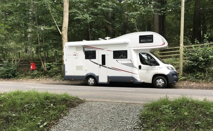 Dixie – Luxe camper voor familie en vrienden