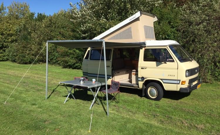 Classic Volkswagen T3 Westfalia Joker 4-person camper van!