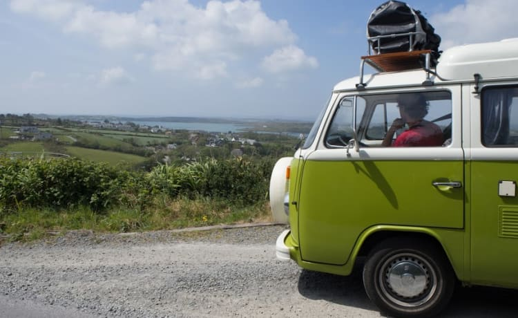 Indy – Discover the world in a classic Volkswagen T2 minibus!