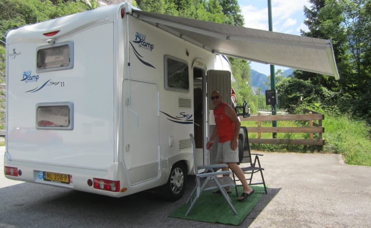 Rimor – 4 pers. fam. camper. of all comfort, book longer for more discount.