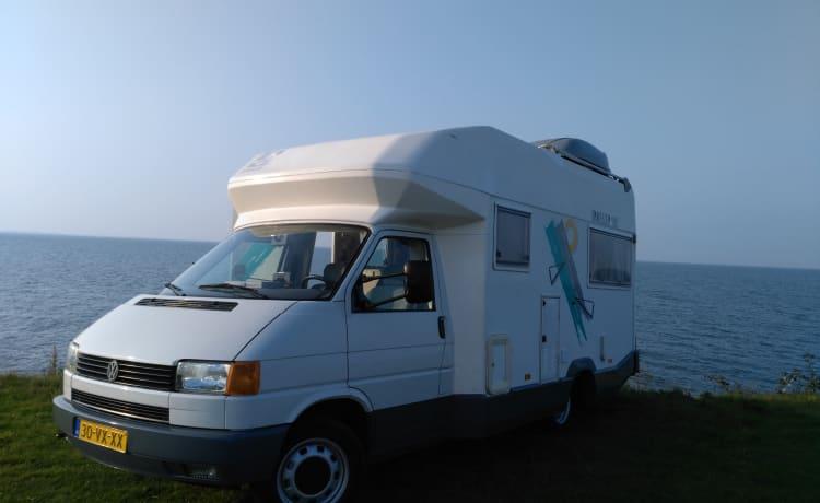Frisse compacte  2 persoons camper