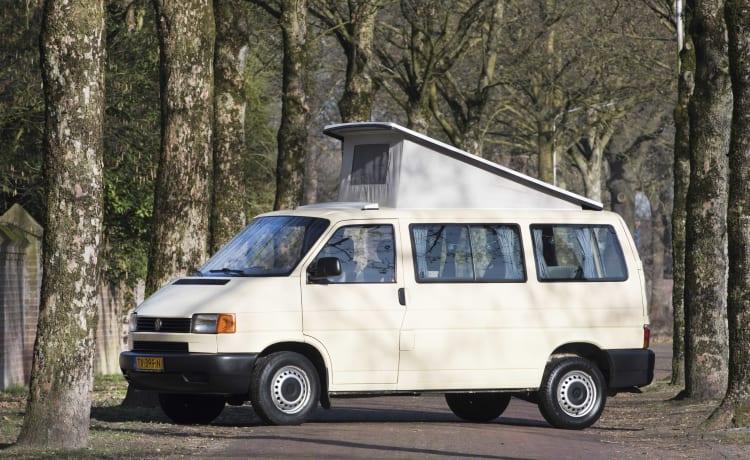Desert  - Gezellige en robuuste VW T4 multivan met hefdak
