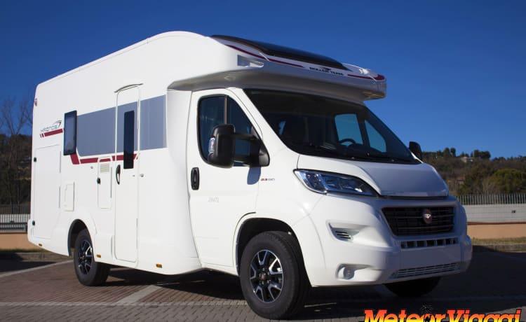 Semi-geïntegreerde compacte Kronos 294 TL-garage