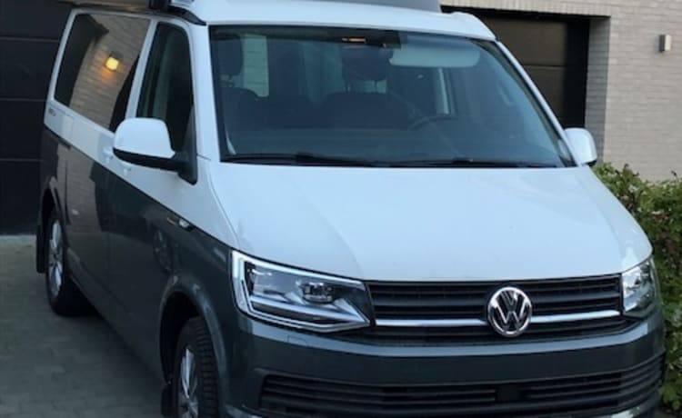 Volkswagen California Beach 2018 – Volkswagen California Beach 2018 te huur