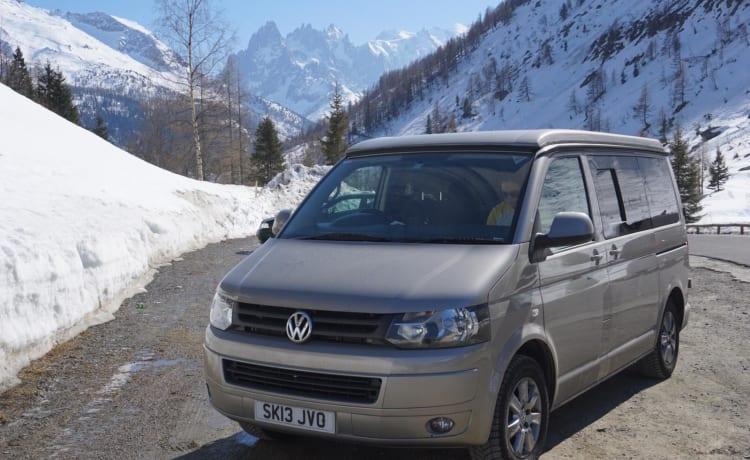 Bertie – Vanlifecamper - Freedom to Roam in onze T5.1 Volkswagen Campervan 'Bertie'