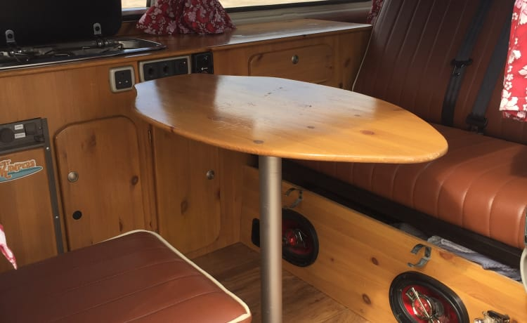 Sally – Sally, VW 1979 Bay Window Camper
