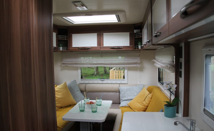 New for 2019 - 5 berth - Ideal for families or groups of friends