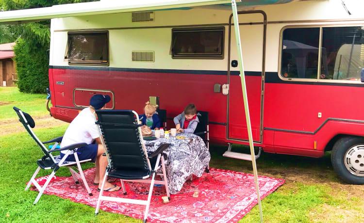Moderne hippie bus  – Heerlijke hippie bus