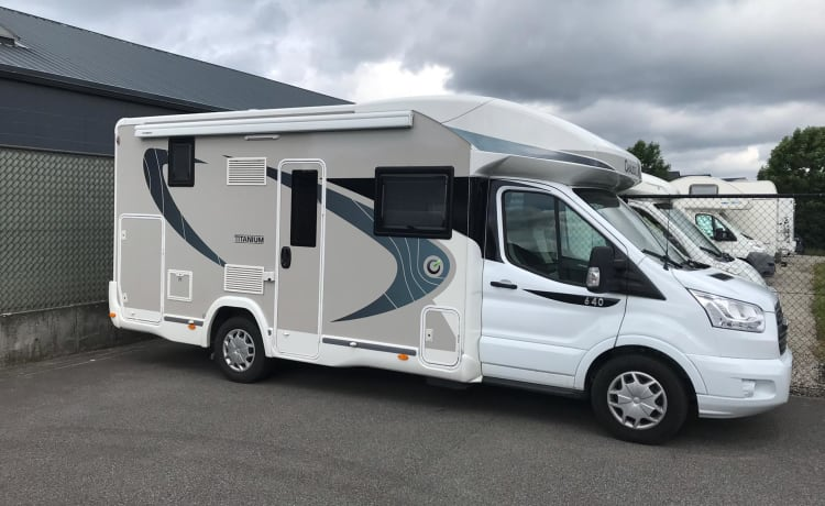 Brand new motorhome Ford Chausson 2018