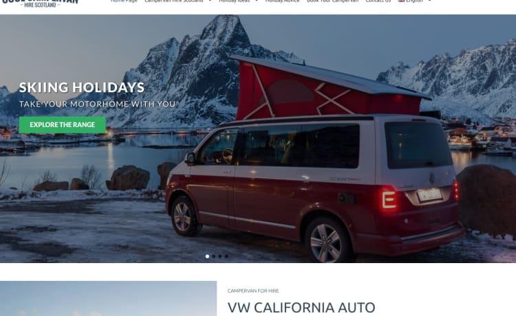 Cool Camper Van Hire Scotland Idium  – VW California auto camper