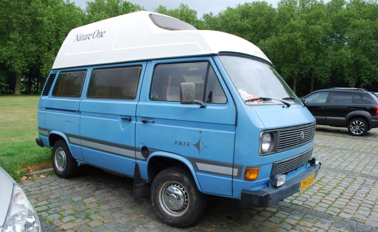 Nice Nostalgic Campervan Volkwagen for rent