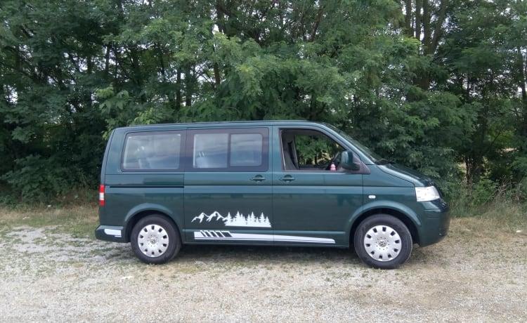 Caravelle – Condivisione Van Volkswagen T5 Caravelle - 9 posti viaggio / 4 posti letto