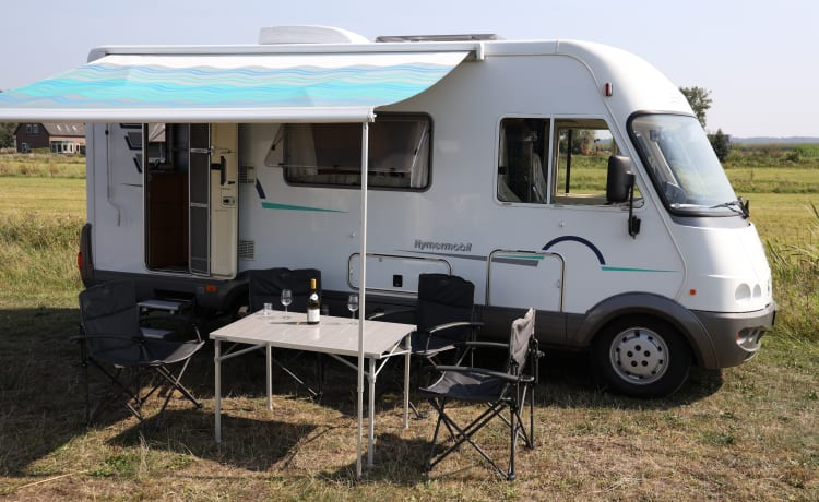 3 person top camper! Hymer B584 - Intergraal