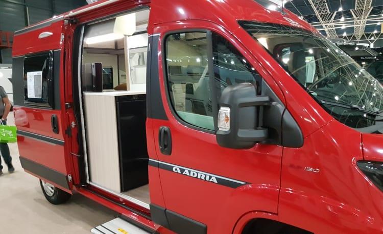 540 compact – COMPATTO (540) E MODERNO ADRIA MODERNO TWIN BUS CAMPER DEL 2019