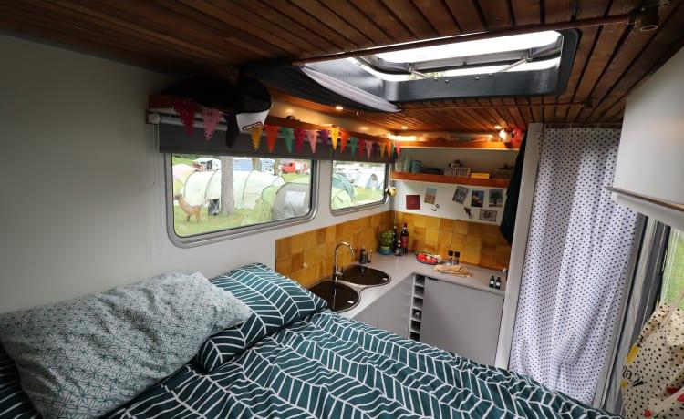 Camper autosufficiente atmosferico con doccia!