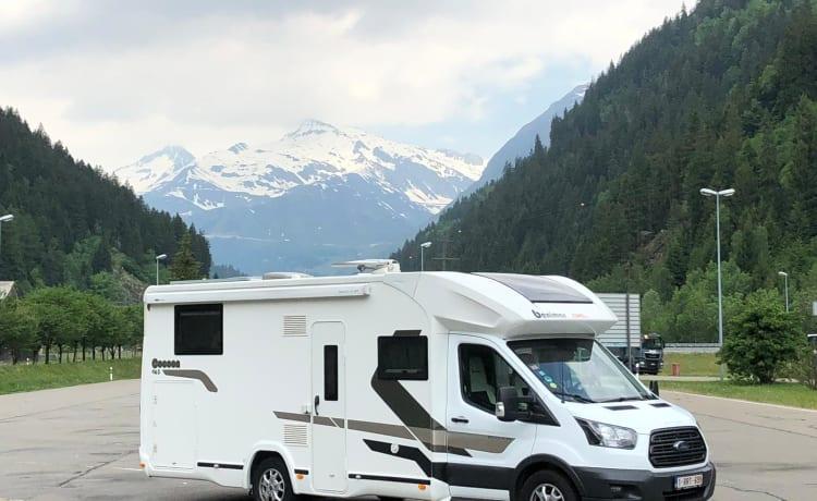 Ford Benimar cocoon 463 – Bella nuova casa mobile / camper con tutto avanti e avanti! Pet negoziabili!