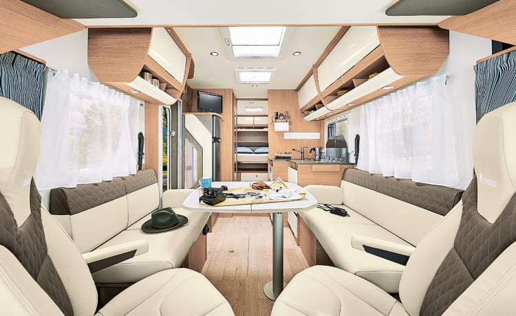 AUTOMAT, new luxury integral ITINEO MC740 BJ.2020
