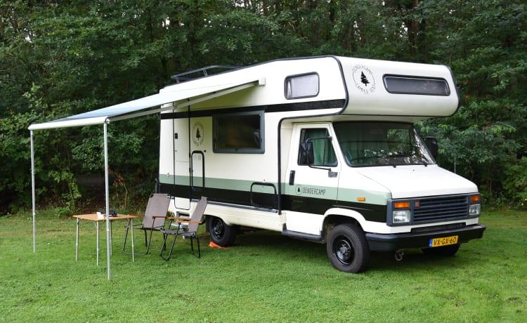 4-persoons alkoof camper (Dendercamp)
