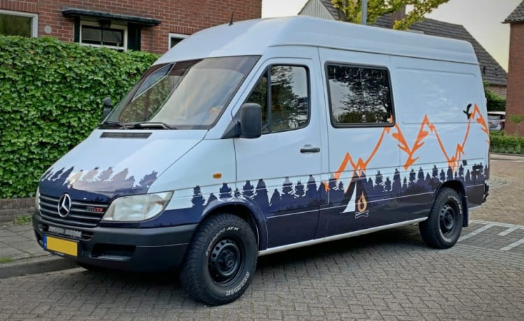 Mercedes Sprinter adventure van