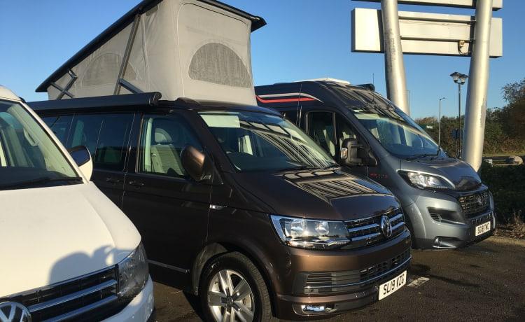Brown Cali  – VW California auto camper