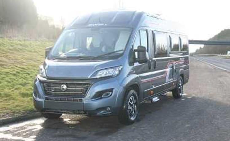 Cool Camper Van Hire Scotland Swift  – SWIFT SELECT 184 Camper Van 4 Berth with toilet and hot shower