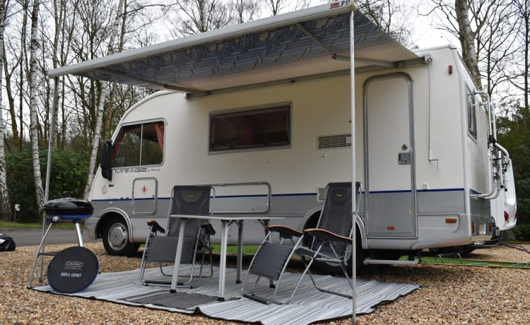 Comfortable, Practical & affordable, all Mod Cons, 5berth