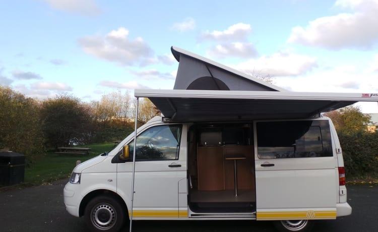 VW T5 Campervan - Noord-Wales (Prestatyn)