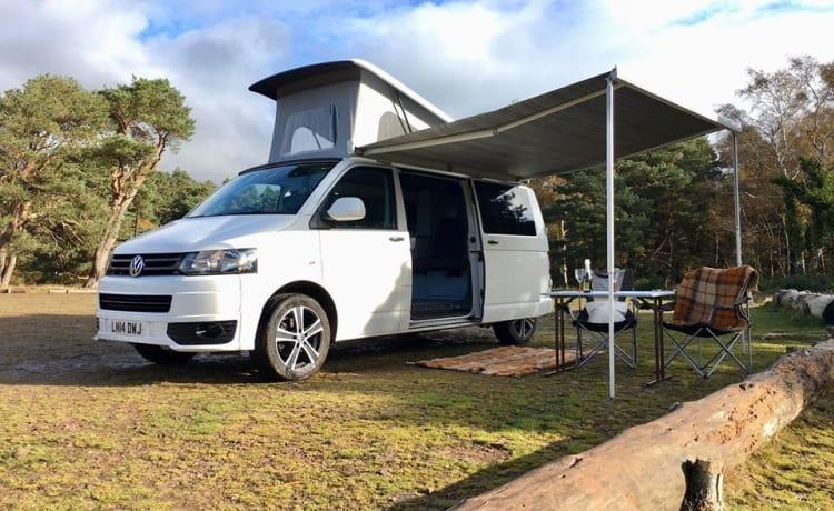 Bailey  – Luxe VW camper huren