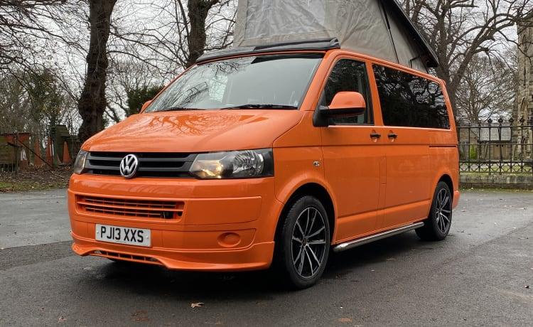 VW Transporter camper