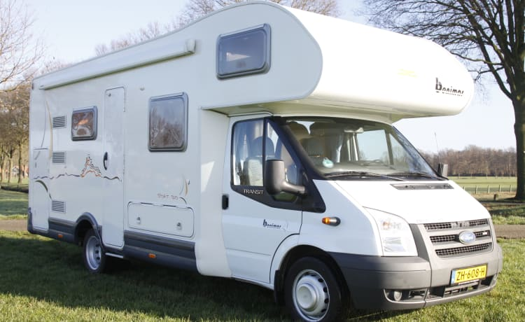 Chausson Flash 09 – Ruime familiecamper Chausson Flash 09 (2)