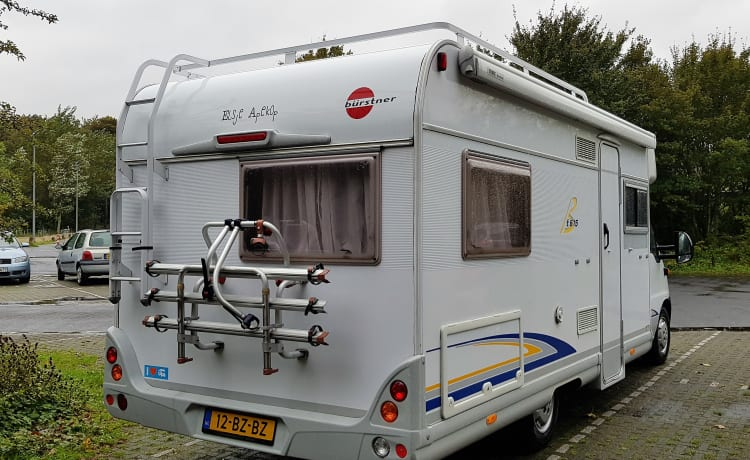 3 person Fiat family camper