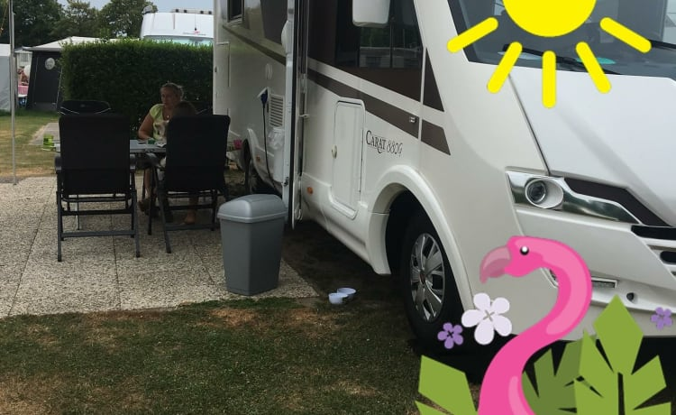 spacious family mobile home