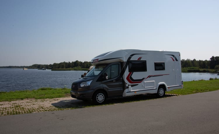 Jules – Jules on the road ... (new spacious mobile home - 4p)
