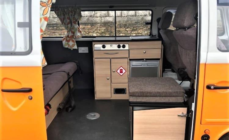 Terry - Retro VW T2 Bay Window Campervan!