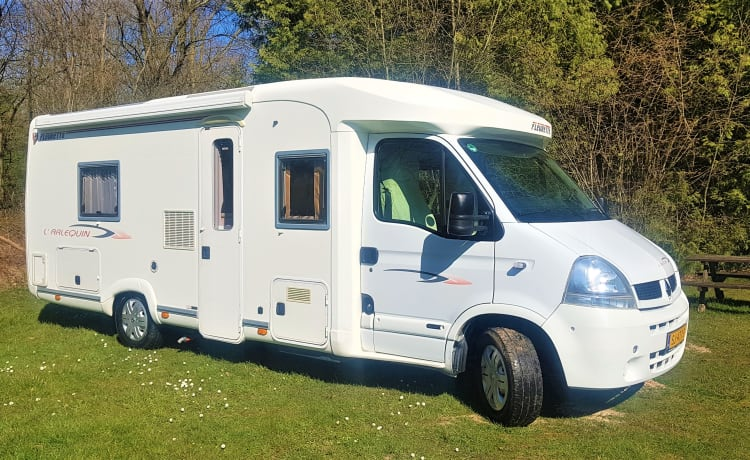 Delicious camper to travel comfortably, free and carefree