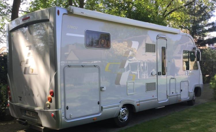 Zeer luxe camper voor C1-rijbewijs