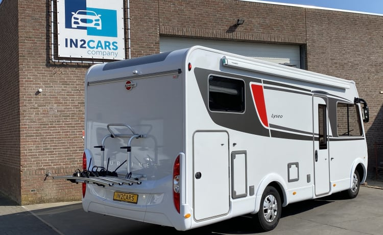 Vrijheid 3 – Very flexible Corona booking options. Luxury Bürstner camper 4 pers.