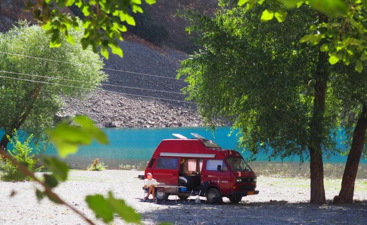 Betrouwbare wereldreizende Volkswagen T3 (Club Joker)