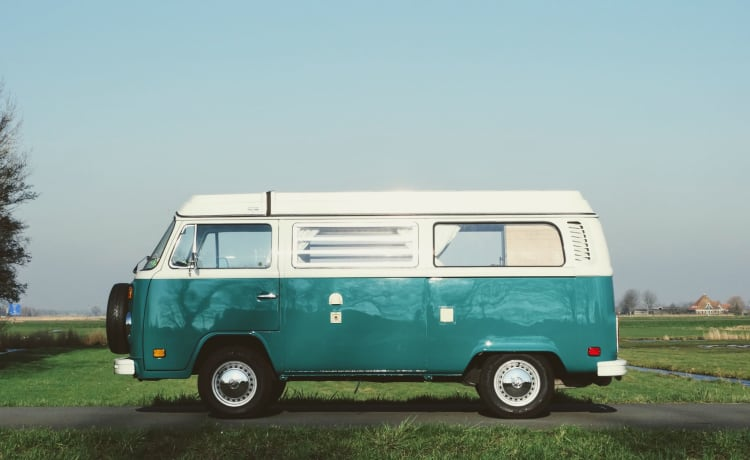 Crowdfunders – Fully electric Volkswagen T2b Westfalia ⚡️