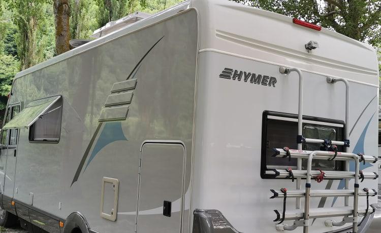Hymer B624 rental