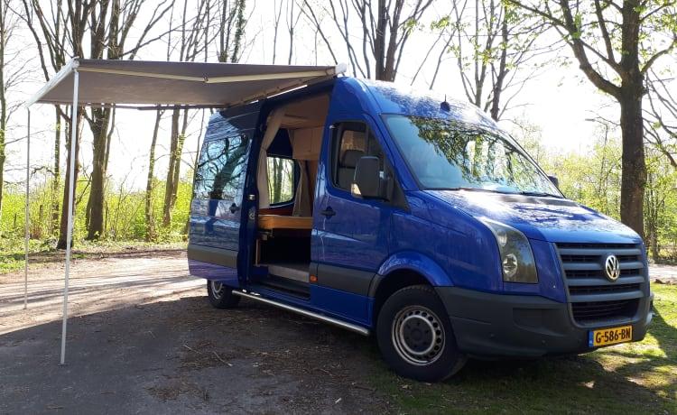volkswagen crafter camper ombouw uit 2020 euro 5(hij mag alle steden in)