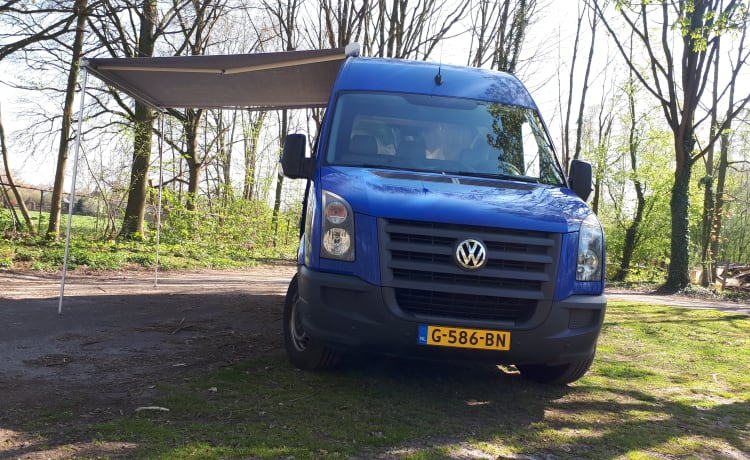 volkswagen crafter camper conversion from 2020 euro 5 (he can enter all cities)