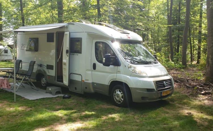 Onze droom camper, ook voor wild camperen!
