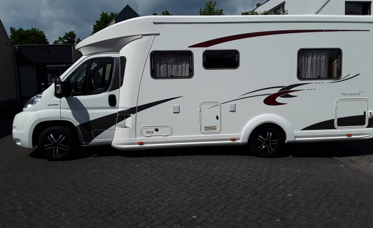 Complete and luxurious Eura Mobil Camper