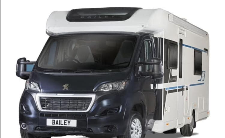 Betty – Bailey Alliance 70-6 Brand New Motorhome for Hire