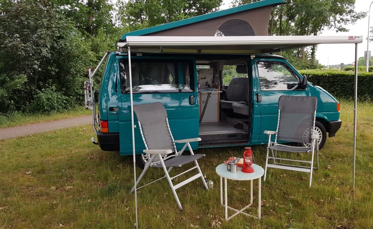 Greenhouse! – Go on an unforgettable road trip with this T4 Westfalia!